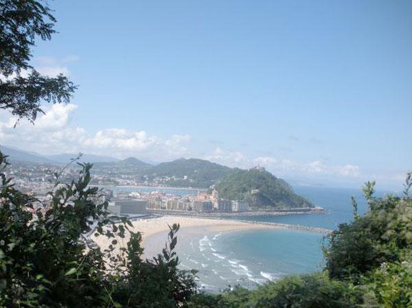 Rutas y senderos desde San Sebastián