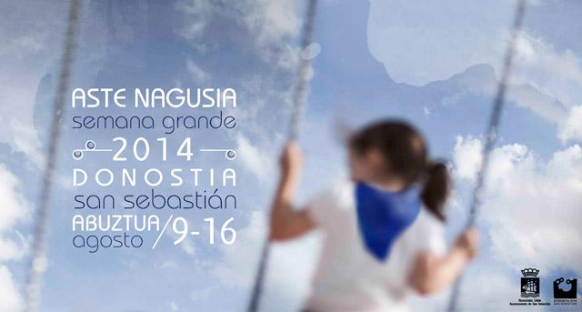 Semana Grande 2014 en San Sebastián