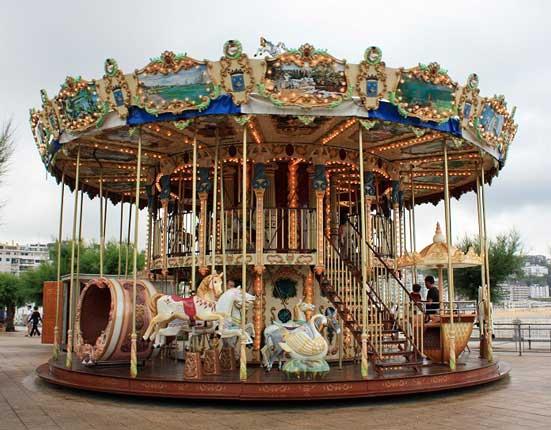Parques y zonas de juegos para niños en San Sebastián