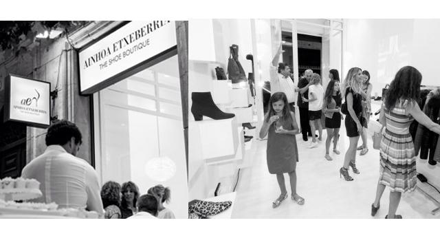 Inauguración Ainhoa Etxeberria: The shoe Boutique