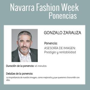 Gonzalo Zarauza participa en Navarra Fashion Week