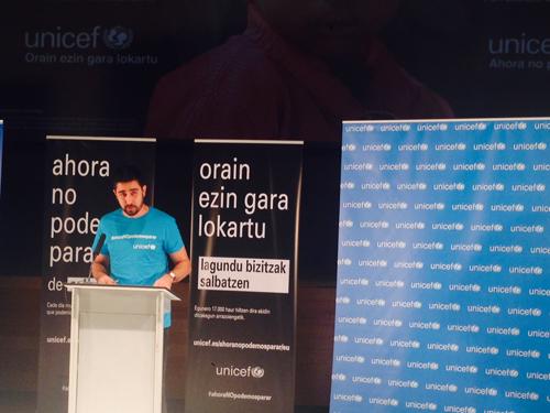 Donostia Unicef: Ahora no podemos parar