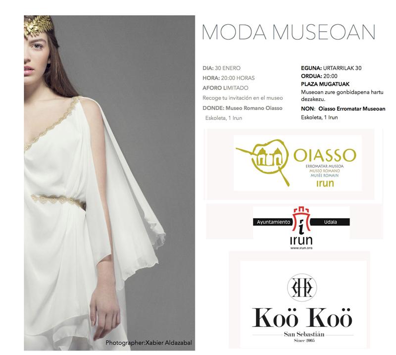 Moda Museoan Donostia con nuevos diseñadores