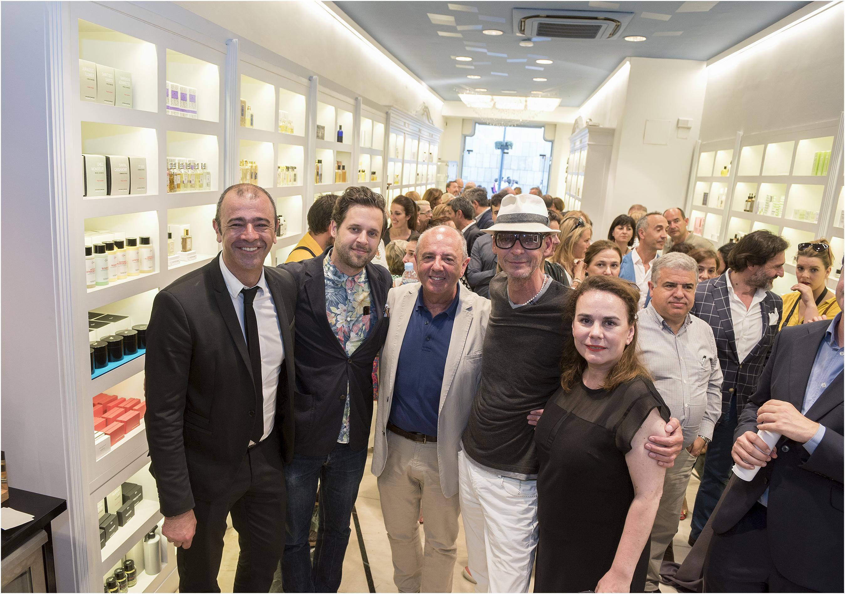 Inauguración Espacio Nose en la Perfumería Urbieta