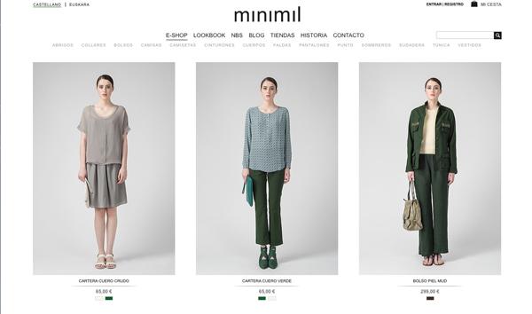 minimil moda mujer donostia