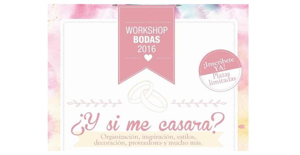 Workshop de Bodas con Nuevo Azul y Prestado