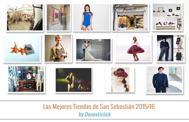 Las Mejores Tiendas de San Sebastián 2015/16