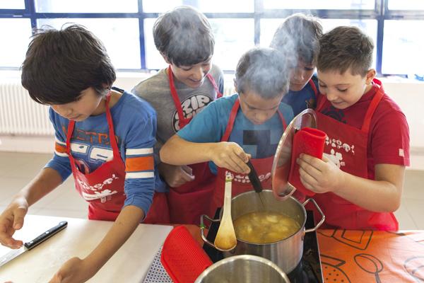 Colonias y Campamentos Gastronómicos en Basque Culinary