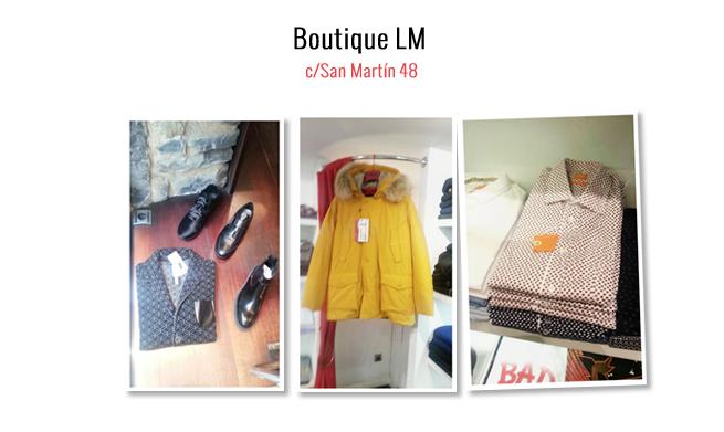 Boutique LM viste al hombre con estilo