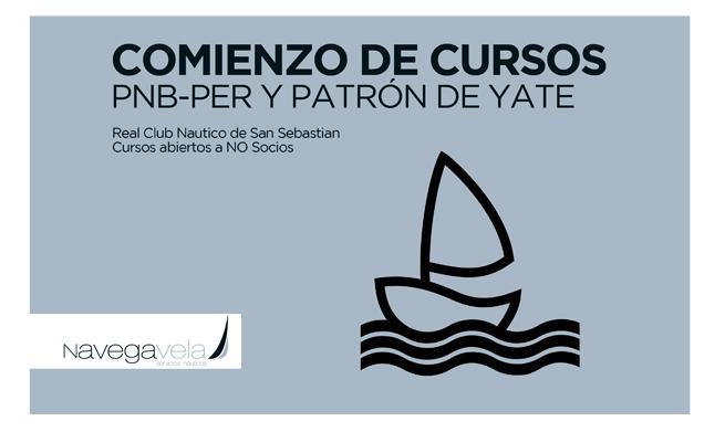 Cursos Náuticos en el Real Club de San Sebastián