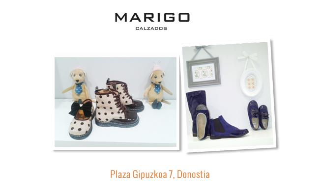 Elegir calzado para niño en Marigo