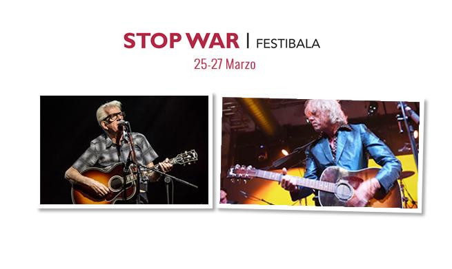 Bob Geldof y Nick Lowe cantan contra la guerra en Donostia