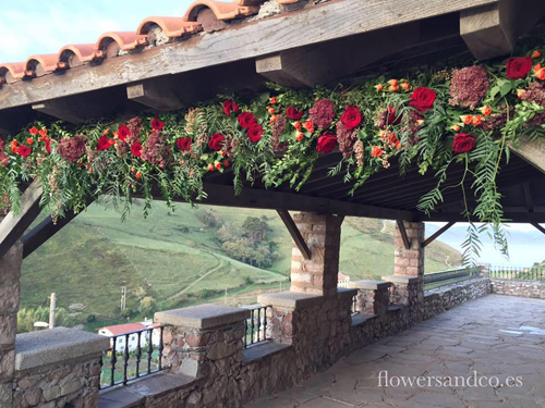flowers&co donostia decoración
