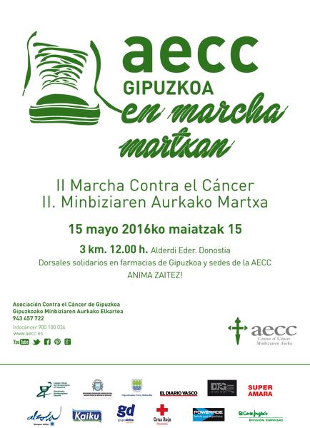 Marcha Deportiva Donostia AECC
