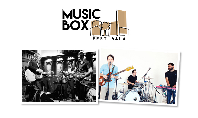 Delorean y Tindersticks en Music Box Festibala