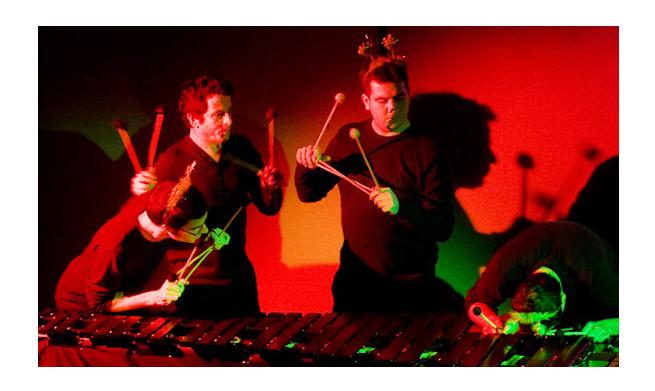 Stick Dance Quartet: Concierto para toda la familia