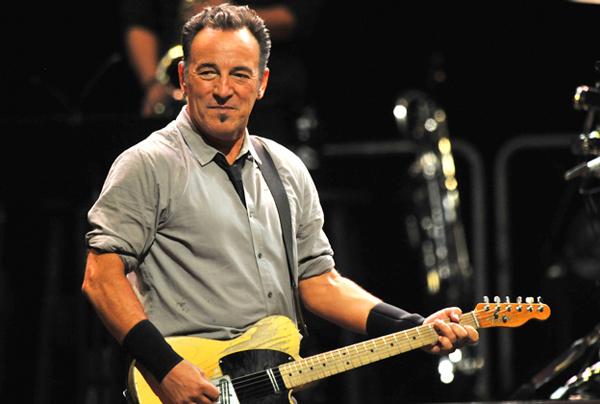 Bruce Springsteen en concierto en Donostia