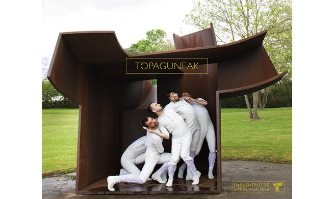 Chillida Leku acoge la obra de Danza Topaguneak