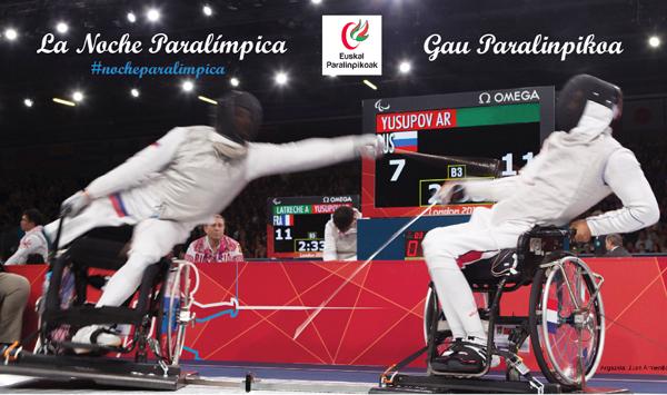 La Noche Paralímpica se celebra hoy jueves en San Sebastián