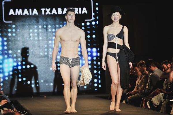 Amaia Txabarria en la Pasarela de Guipuzkoa de Moda