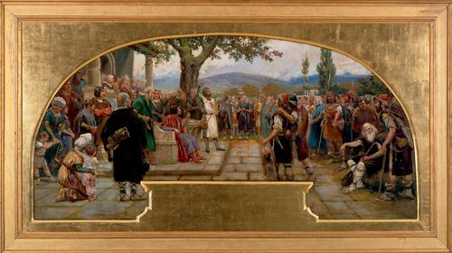 tratado de paz-museo dan telmo-donostia-José Echenagusia
