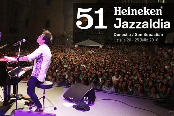 Comienza en San Sebastián el Heineken Jazzaldia