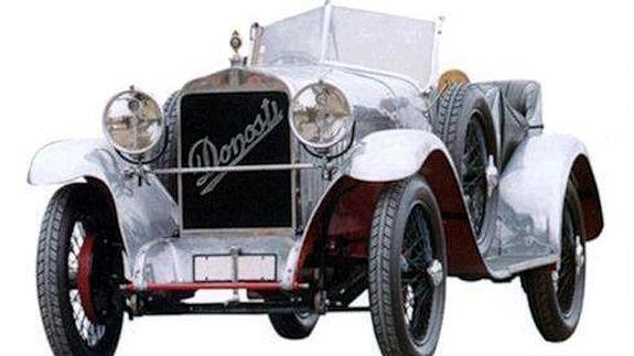 El coche fabricado en San Sebastian está en San Telmo