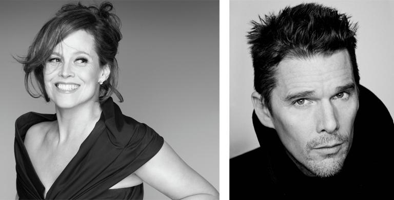 Sigourney Weaver y Ethan Hawke Premios Donostia 2016
