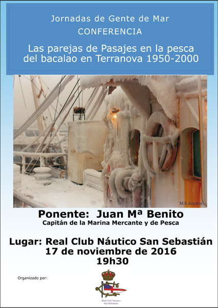 conferencias donostia real club nautico