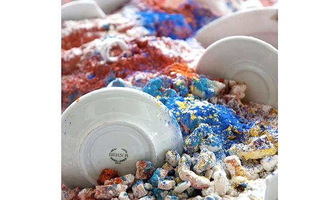 Exposición Porcelanas Bidasoa en el Museo Oiasso