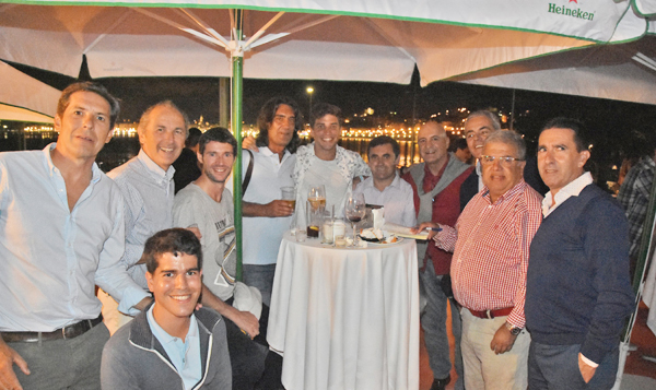 Cocktail en el Club de Tenis por el ITF Futures