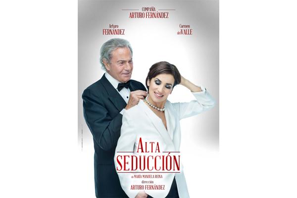 Arturo Fernández presenta Alta Seducción en el Teatro Principal