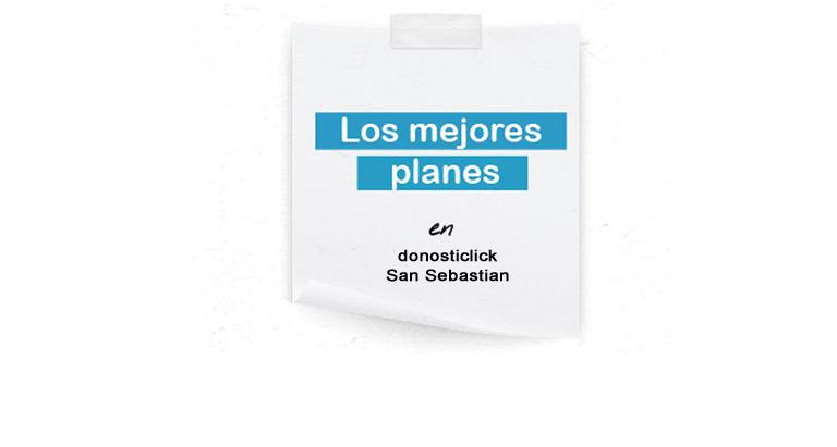 Planes en San Sebastián