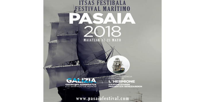 El Festival del Mar de Pasaia se celebrará del 17 al 21 de mayo