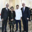 Francis Paniego presenta su cocina en Hotel Maris Cristina de San Sebastian