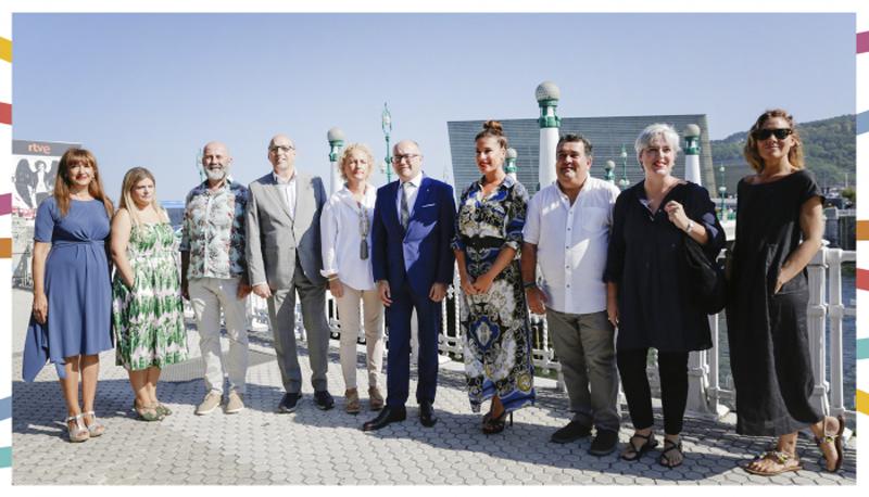 La Moda Vasca viste las galas del Festival de Cine de San Sebastián