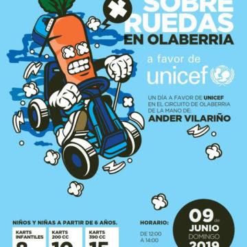 Un día sobre Ruedas con Ander Vilariño en Unicef