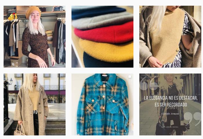 Uhin mejores tiendas moda Zarautz