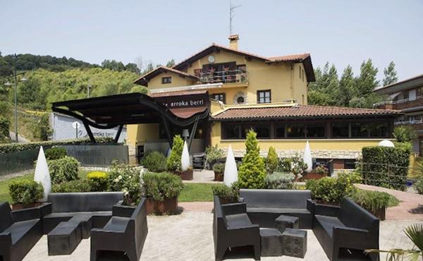 Caserio con Terraza en Arroka Berria de Fuenterabbila