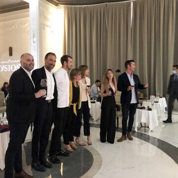 Ysios presenta Arte y Vino en San Sebastián