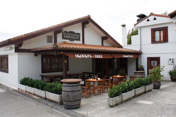 Terraza Caserio Iriarte en Hondarribia
