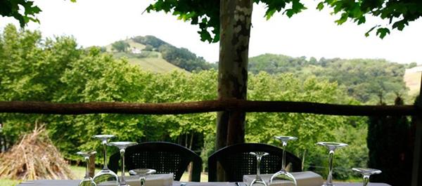 terraza de Trnikete en Hondarribia